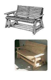 glider bench plans woodworking plans