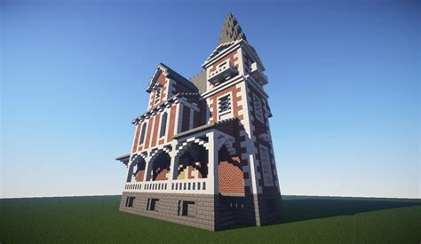 ladies house brick minecraft house design