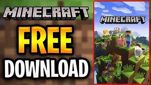 Minecraft Free Download - How To Download Minecraft For Free 2019  Windows Pc  Mac  Java