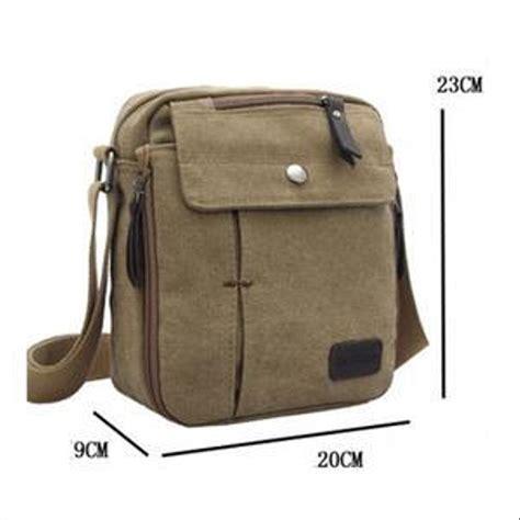 jual new tas slempang kekinian import kanvas militer slempang messenger shoulder bag tas