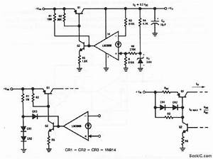norton regulator with high voltage input protection With short circuit input