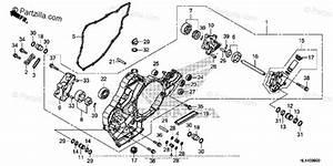 Honda Side By Side 2016 Oem Parts Diagram For Oil Pump