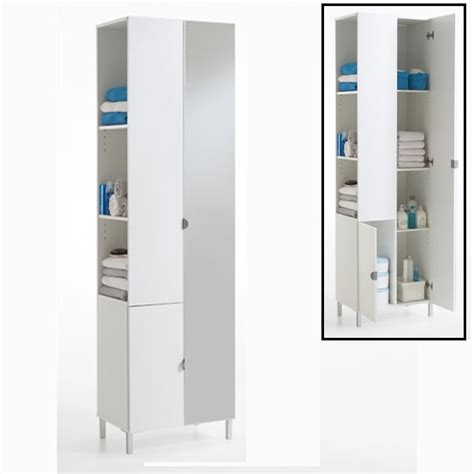 free standing bathroom cabinets mirrored free standing bathroom cabinet home design