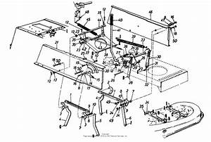 Mtd 134l667f118  1994  Parts Diagram For Deck Lift
