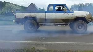 1978 Dodge Power Wagon Burnout   1
