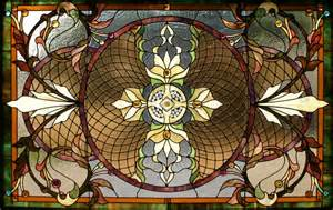 Stained Glass Window Texture