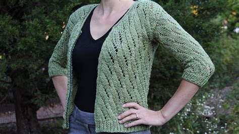 how to sweater how to knit a cardigan sweater knitting tutorial with