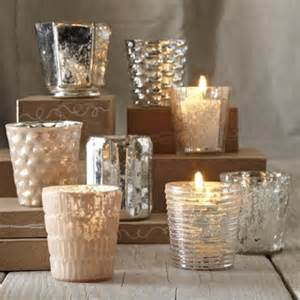 mercury glass holder cheap votives cheap wedding decor