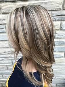 Quelle Couleur Faire Sur Des Meches Blondes : 1001 id es pour coiffures avec couleur de cheveux marron clair ~ Melissatoandfro.com Idées de Décoration