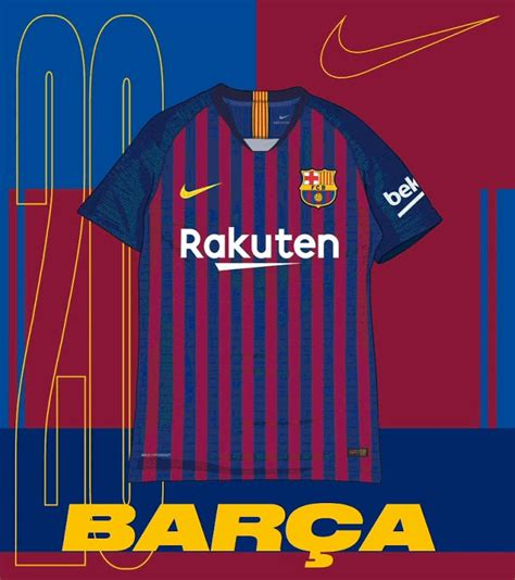 Barcelona Kit History 20 Years With Nike Which Is The Best Bar 231 A Home Kit