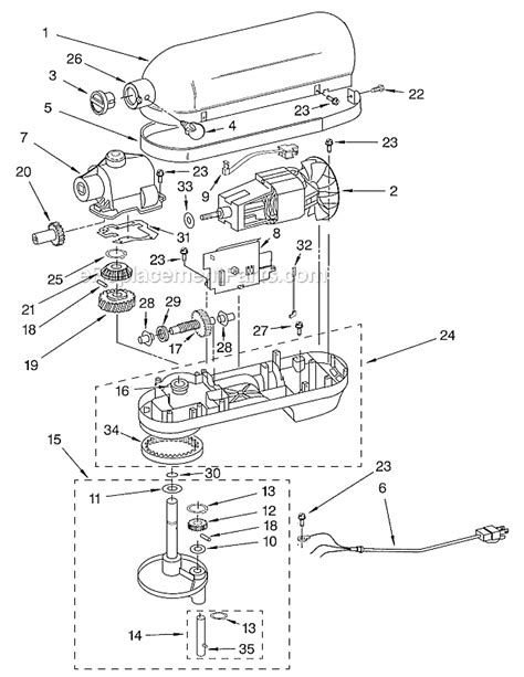 kitchen aid replacement parts kitchenaid kb26g1x parts list and diagram series 3