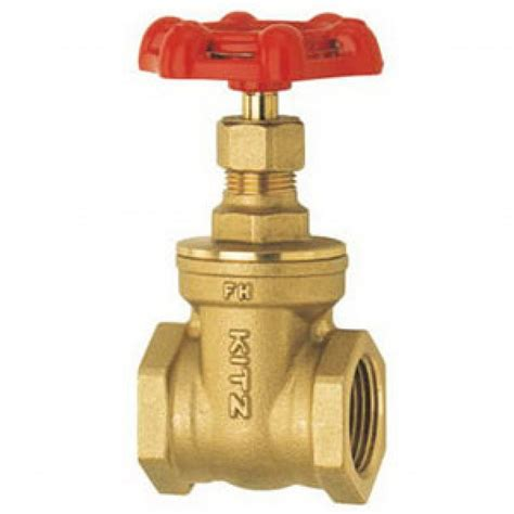 kitz brass gate valve  top notch quality
