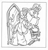 Coloring Disney Princess Pages Belle Printable Character Books Beauty Movies Beast Cartoon sketch template