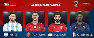 Ultigamerz PES 2018 Mini Face Pack World Cup 2018
