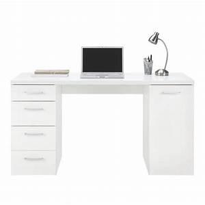 Kleiner Schreibtisch Mit Viel Stauraum : schreibtisch in wei online kaufen m max ~ Indierocktalk.com Haus und Dekorationen