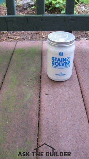 oxygen bleach   safe   remove algae  patios