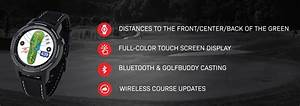 New 2020 Golf Buddy Aim W10 Smart Watch Golf Gps Touch