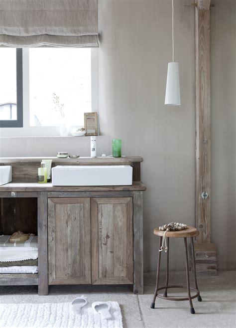 meuble cuisine en bois brut meuble en bois brut ambiance nature