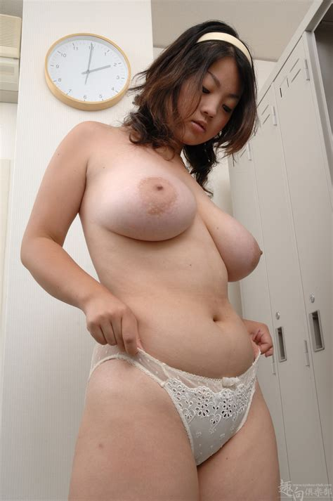 Japanese Teen Girl With Big Boobs Raising Her White