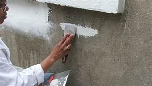 renover un mur exterieur abime With enduit interieur sur parpaing
