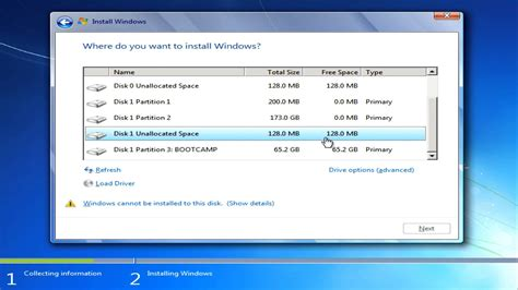 Install Windows 7 On A Mac Using Boot Camp Assistant (mac