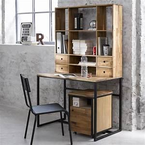 Deco Style Industriel : photo decoration d co bureau style industriel ~ Melissatoandfro.com Idées de Décoration