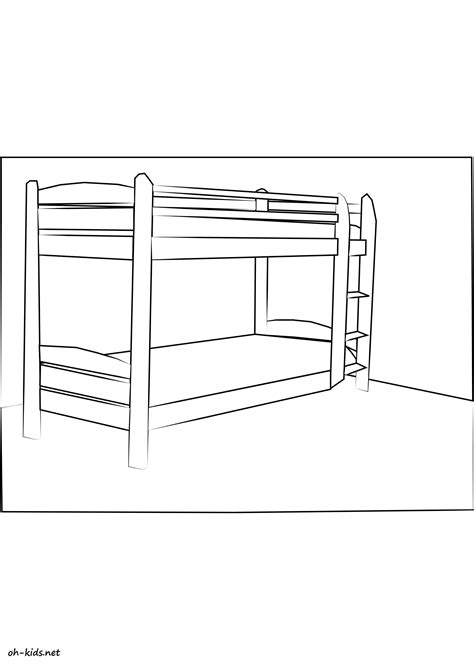 coloriage chambre coloriage chambre page 2 of 2 oh fr