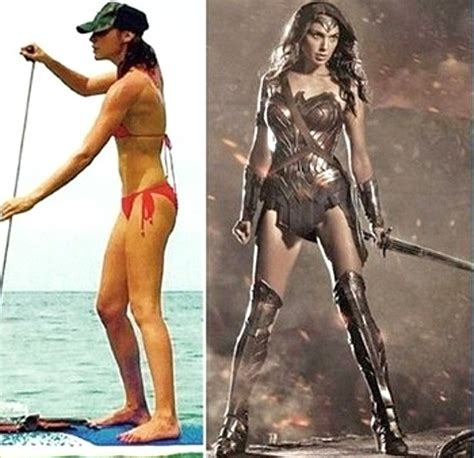 gal gadot gained weight to play diet