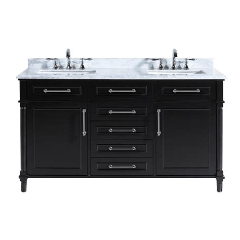 home decorators vanity home decorators collection aberdeen 60 in w x 22 in d 1655