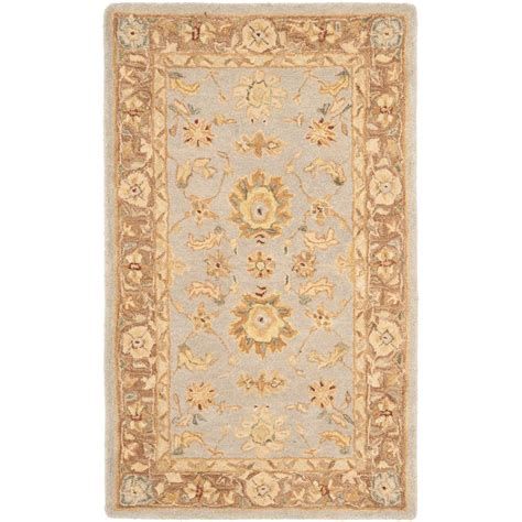 Teal And Brown Area Rugs by Safavieh Anatolia Teal Brown 2 Ft X 3 Ft Area Rug An557a