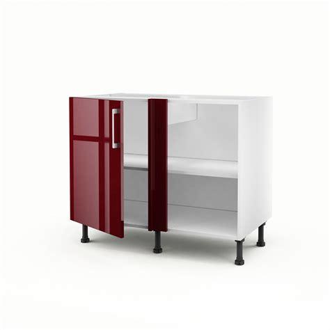 porte meuble cuisine meuble de cuisine bas d 39 angle 1 porte griotte h 70 x