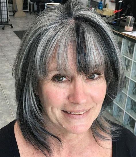 50 Gray Hair Styles Trending in 2020 Grey hair over 50