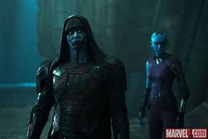 Ronan (Lee Pace) and Nebula (Karen Gillan) in Marvel's ...