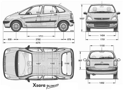 dimension grand c4 picasso volume coffre picasso 2002 cadillac