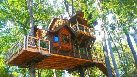 treehouse cabins asheville nc a trio of treehouse developments