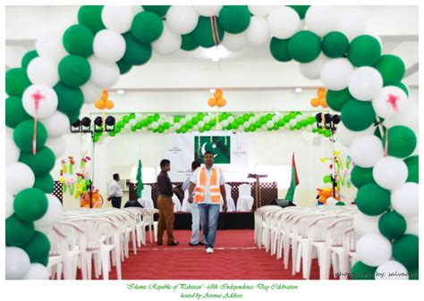 image result  pakistan independence day decoration