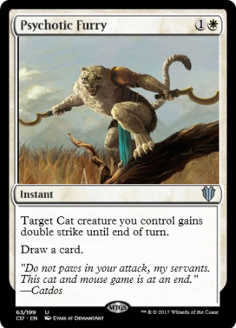 cat deck mtg 2017 commander 2017 leaks feline ferocity cards spoilers