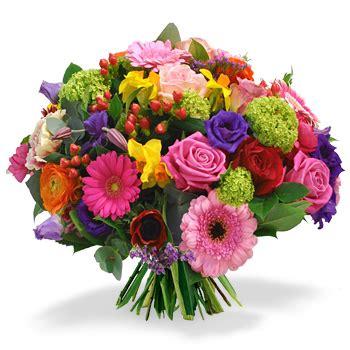 afbeeldingen verjaardag bos bloemen feestelijk boeket 187 bosbloemenbezorgen nl