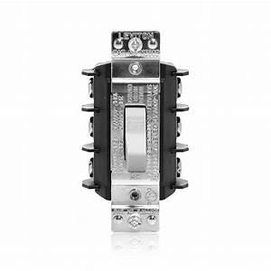 Leviton 30 Amp 600 Volt Industrial Grade Three Pole Three