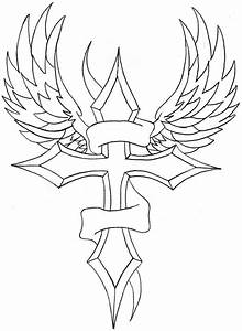 Winged Cross and Banner by dannyj321 on DeviantArt