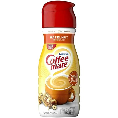 Please give us a thumbs up and please subscribe. Nestle Coffee Mate Hazelnut Flavor 16 oz ( Pack of 12 ) - Other Coffee