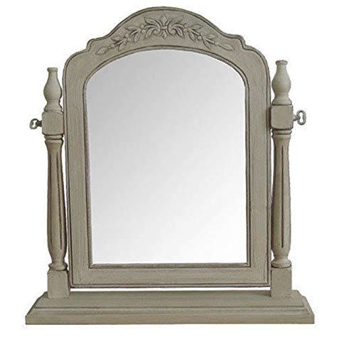 shabby chic table mirror paris range dressing table mirror shabby chic antique cream finish