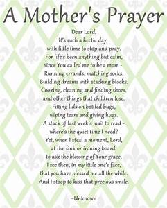 A Mother's Prayer | Babies, Parents and Inspirational