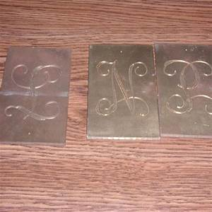lot 66 new hermes brass engraving fonts large lot With brass engraving letters