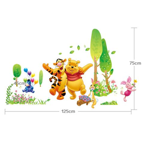 decor winnie the pooh wall decals 2017 et stickers