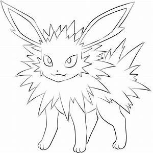 Pokemon Coloring Pages Eevee Evolutions - Coloring Home