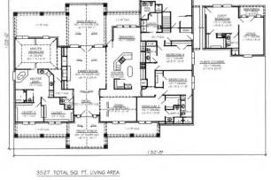 1-Story 5 Bedroom House Plans