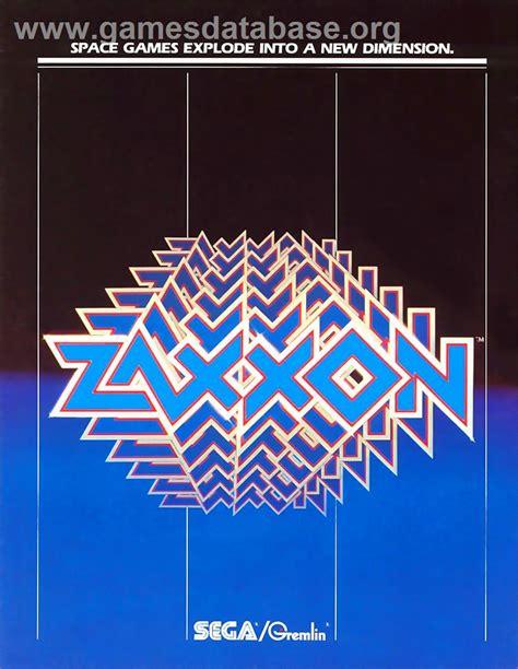 Zaxxon Atari 5200 Games Database