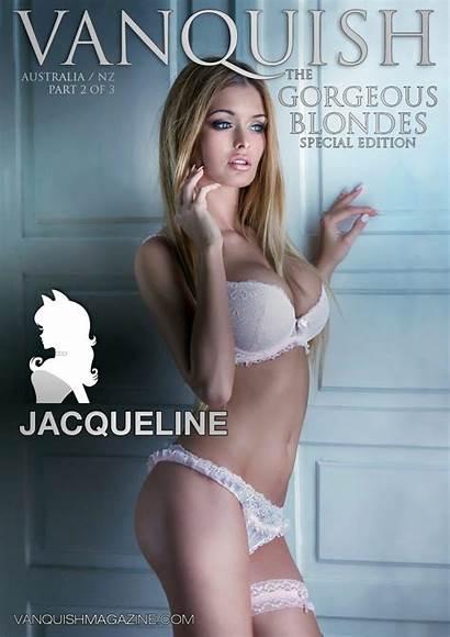 Vanquish Magazine Gorgeous Blondes Jacqueline