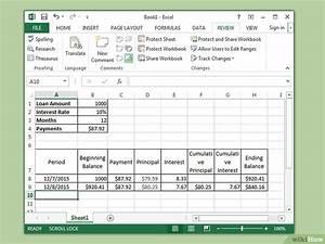 Rendite Berechnen Excel : in excel den kapitalwert berechnen wikihow ~ Themetempest.com Abrechnung